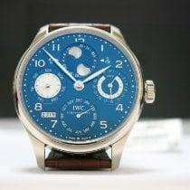 IWC Portuguese Perpetual Calendar nuevo 2013 Automático Reloj con estuche y documentos originales 503203