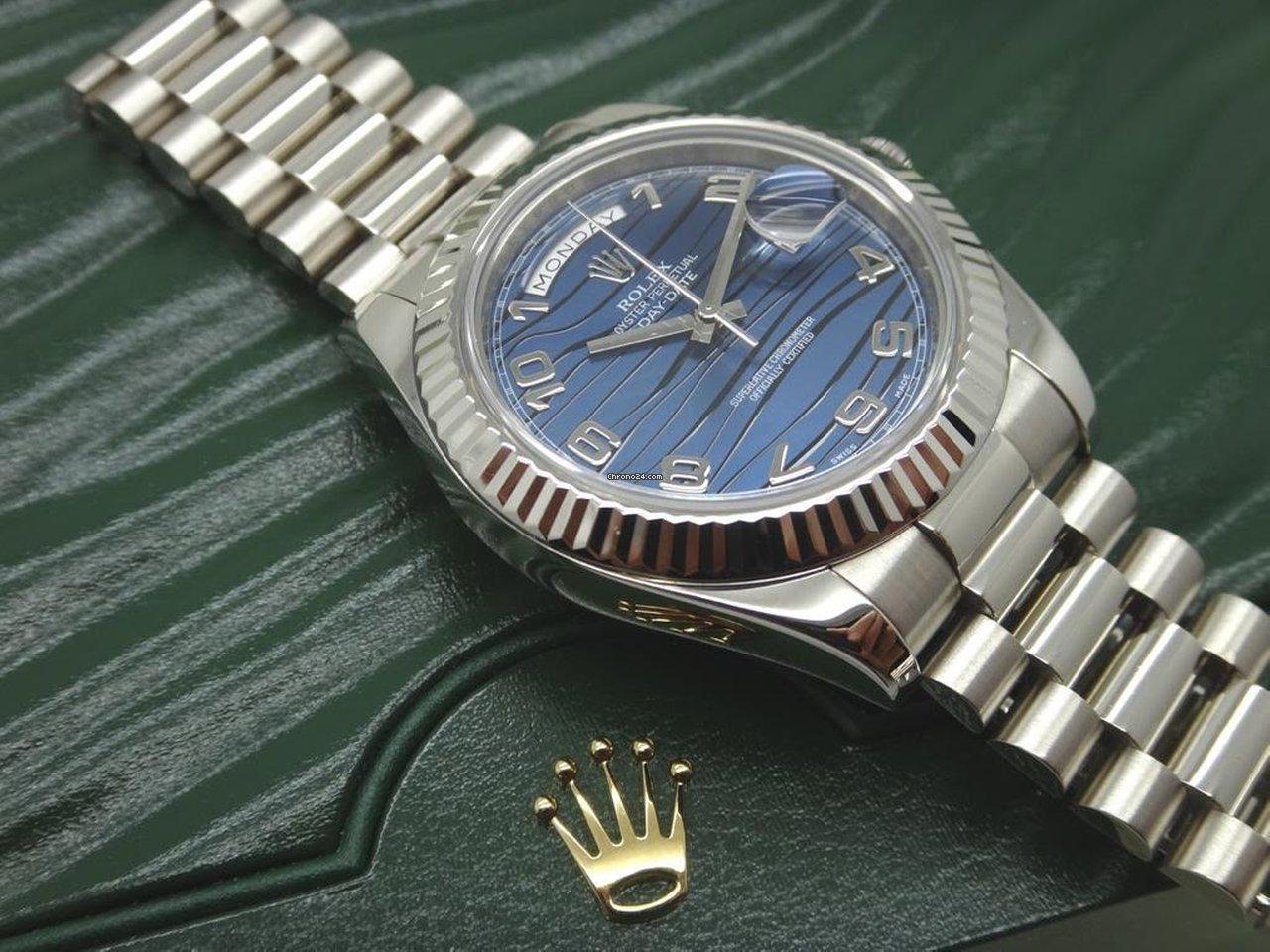 Rolex (ロレックス) デイデイト II 218239 blwap 新品