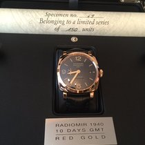 Panerai Rose gold Automatic new Special Editions