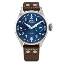 IWC Big Pilot Steel 46mm Blue