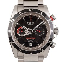 Tudor Grantour Chrono Fly-Back Zeljezo 42mm Crn