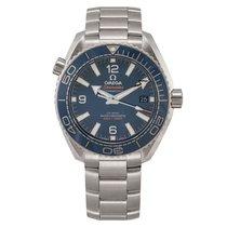 Omega Seamaster Planet Ocean Steel 39.2mm Blue