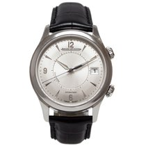 Jaeger-LeCoultre Master Memovox Steel 40mm Silver