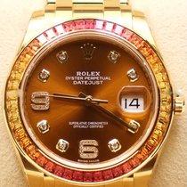Rolex Pearlmaster Gelbgold 39mm Braun Deutschland, Duisburg