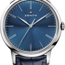 Zenith Elite 6150 Steel 42mm Blue United States of America, New York, Airmont