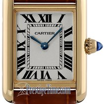 Cartier Tank Louis Cartier Yellow gold 22mm Silver United States of America, New York, Airmont