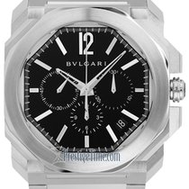 Bulgari Octo Steel 41.5mm Black United States of America, New York, Airmont