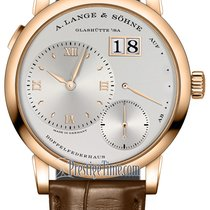 A. Lange & Söhne Lange 1 Rose gold 38.5mm Silver United States of America, New York, Airmont