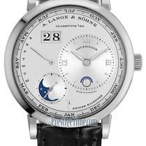 A. Lange & Söhne Lange 1 Platinum 41.9mm Silver United States of America, New York, Airmont