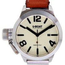 U-Boat Classico подержанные 45mm Цвета шампань Дата Кожа