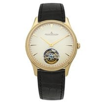 Jaeger-LeCoultre Master Ultra Thin Tourbillion Pозовое золото 40mm Цвета шампань
