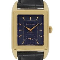 Girard Perregaux Yellow gold Automatic Blue 28mm pre-owned Richeville