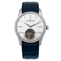 Jaeger-LeCoultre Platinum Automatic Silver 42mm new Master Grande Tradition