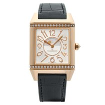 Jaeger-LeCoultre Reverso Squadra Lady Duetto Roségold 42mm Silber