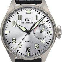 IWC Big Pilot Сталь 46mm Cерый