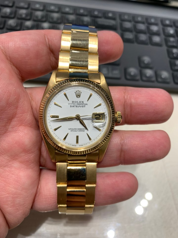Rolex Datejust 6605 1957 pre-owned