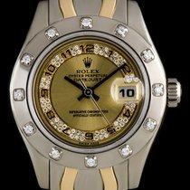 Rolex Rolex Lady-Datejust Pearlmaster 80319 Белое золото 2000 Lady-Datejust Pearlmaster 29mm подержанные