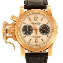 Graham Chronofighter 2CFAR.S02AD54B Very good Red gold 43mm Automatic