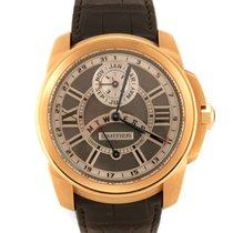 Cartier Calibre de Cartier Pозовое золото 42mm Черный