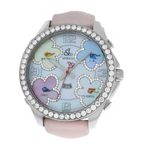 Jacob & Co. Five Time Zone Steel 47mm Mother of pearl Arabic numerals United States of America, New York, New York