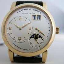A. Lange & Söhne Lange 1 Yellow gold 38.5mm White Roman numerals United States of America, Florida, Boca Raton