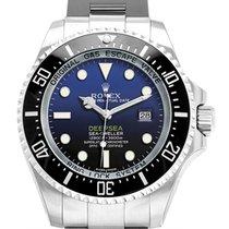 롤렉스 씨드웰러 딥씨 신규 2018 자동 시계 및 정품 박스와 서류 원본 116660