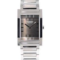 Hermès Tandem Stahl 32mm Grau