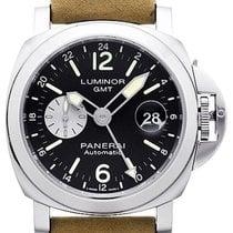 Panerai Luminor GMT Automatic neu 2020 Automatik Uhr mit Original-Box und Original-Papieren PAM01088 / PAM1088