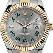 Rolex Datejust II Acier 41mm Gris Romain