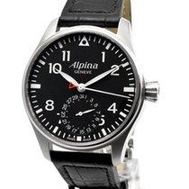 Alpina Startimer Pilot Manufacture Сталь 44mm Черный