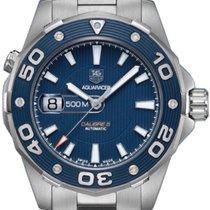 TAG Heuer Aquaracer 500M Steel 43mm Blue