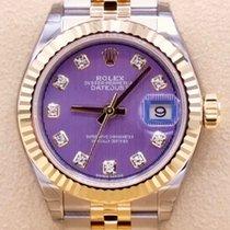 Rolex Lady-Datejust 279173 Неношеные Золото/Cталь 28mm Автоподзавод