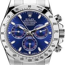 Rolex Daytona Acier 40mm Bleu