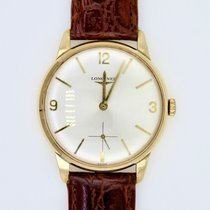 Longines Yellow gold 35mm Manual winding 74773 pre-owned