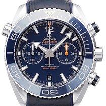 Omega Seamaster Planet Ocean Chronograph Stahl 45,5mm Blau Keine Ziffern Deutschland, Bietigheim-Bissingen