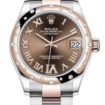 Rolex Datejust Rose gold 31mm Brown Roman numerals United States of America, California, Los Angeles