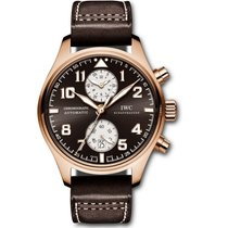 IWC Pilot Chronograph novo Automático Cronógrafo Relógio com documentos originais IW387805