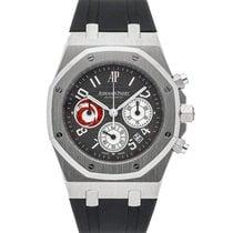 Audemars Piguet Platinum Automatic Grey Arabic numerals 39mm new Royal Oak Chronograph