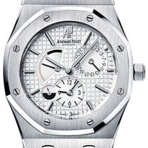 Audemars Piguet Royal Oak Dual Time Steel 39mm Silver No numerals United States of America, New York, New York