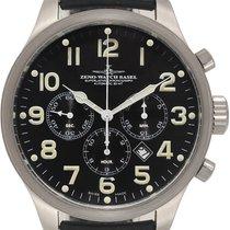 Zeno-Watch Basel OS Pilot Steel 46mm Black