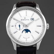 Zenith Captain Moonphase nowość 2014 Automatyczny Zegarek z oryginalnym pudełkiem i oryginalnymi dokumentami 03.2140.691/02.C498