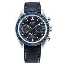 Omega Speedmaster Professional Moonwatch Moonphase Acier 44.25mm Bleu
