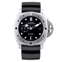 Panerai Luminor Submersible 1950 3 Days Automatic Titanium 47mm Black United Kingdom, London