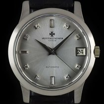 Vacheron Constantin White gold Automatic Silver 35mm pre-owned