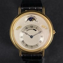 Breguet pre-owned Automatic 35.8mm Silver Sapphire crystal