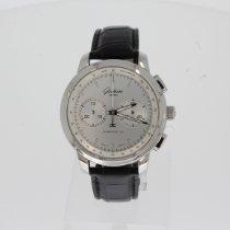 Glashütte Original Senator Chronograph XL Acier 44mm Argent