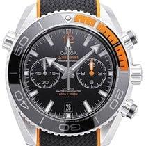 Omega 215.32.46.51.01.001 Acier 2020 Seamaster Planet Ocean Chronograph 45,5mm nouveau
