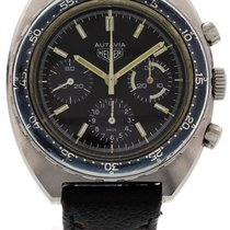 Heuer Steel 42mm Manual winding 73663 United States of America, New York, New York