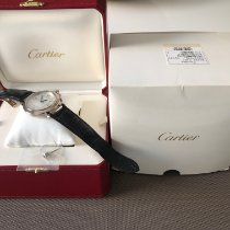 Cartier Weißgold Automatik Silber Arabisch 42mm neu Pasha