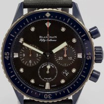 Blancpain Fifty Fathoms Bathyscaphe 52000310G52A 2017 neu